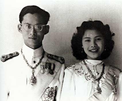 Kong Bhumibol og Dronning Sirikit