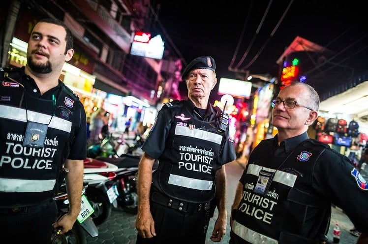 Tourist Police Thailand - Creative Commons