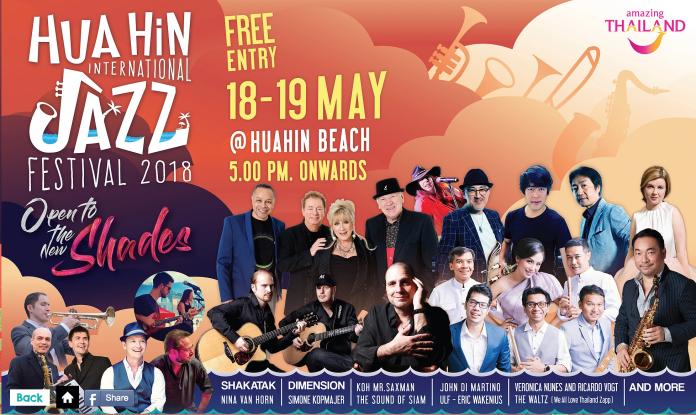 Hua Hin International Jazz Festival 2018