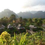 Hytter i Laos