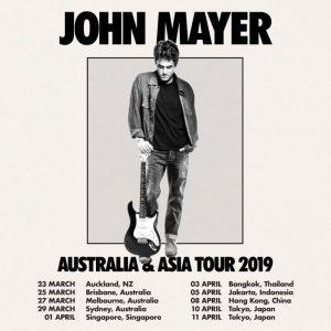 Bangkok: John Mayer