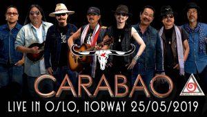Carabao Live in Oslo @ Ekeberg Idrettshall